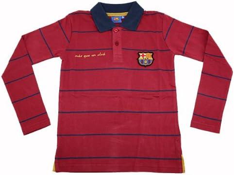 FC Barcelona Polo camisa infantil Polo camisa manga larga Messi ...