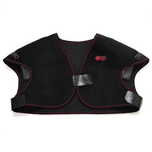 LPY-Cervical Shoulder Back Heating Massage? Built-In Double Heating Keep Warm For Men And Women by Neck Protector