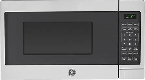 GE JES1072SHSS 0.7 Cu. Ft. Capacity Countertop Microwave Oven in Stainless Steel