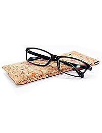 Boshiho Eco-Friendly Cork Glasses Pouch Bag Cosmetic Bag Pencil Case Vegan' s Gift