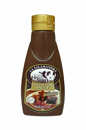 La Salamandra Chocolate Dulce De Leche Squeeze Bottle - Net Wt. - 12.16 Ounce