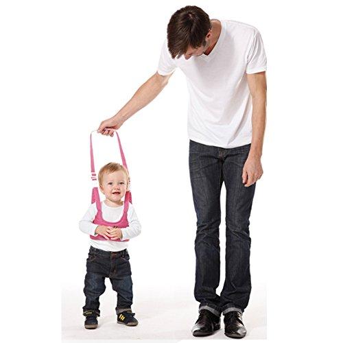 [Sealive Handheld Baby Walker Kid's Safe Walking Harness Protective Belt Learning Assistant Adjustable Baby Learning Walker Safe Keeper,Great Gift For 6-18 Months] (Wood Costumer)