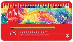 Caran d'Ache SUPRACOLOR SOFT SET 120 by Caran d'Ache