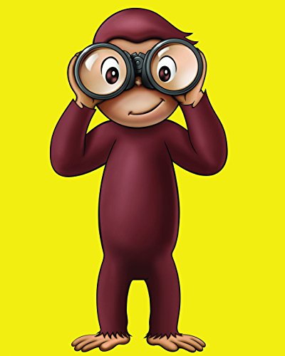 (Curious George 8 x 10 GLOSSY Photo Picture)