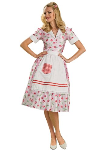 Rubie's Costume 50's Housewife Costume, Standard