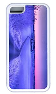 Purple Landscape Case for iphone 4/4s iphone 4/4s TPU White by Cases & Mousepads