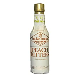 Fee Bros. Peach Bitters by Fee Brothers 3 A unique, fruity mixer. Use in cocktails like Xeres and Coronation. A Fee Brothers original.