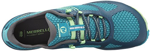 Turquoise Merrell Glove 3 Shoe Adult Running Pace M 6 Trail US 77q6YwS
