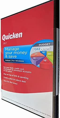 B07FM7BM3Y Quicken Deluxe 2017 Software (No Subscription) Win/PC Manage Your Money & Save 41zmuaDeLKL.