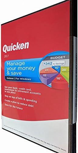 Quicken Deluxe 2017 Software Win product image