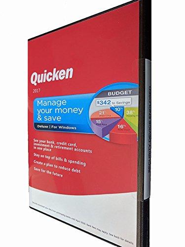 Quicken Deluxe 2017 Software (No Subscription) Win/PC Manage Your Money & Save by Quicken Deluxe 2017 Software - No subscription needed. Win/PC