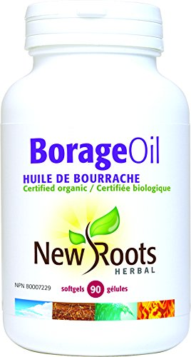 New Roots Borage Oil, 90 Softgels by New Roots