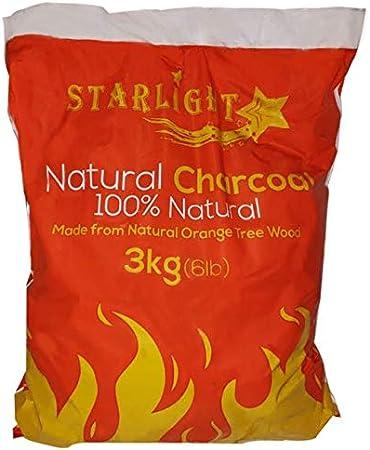 2 Starlight Natural Charcoal 6.6 lb 100/% Natural