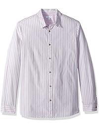 Men's Long Sleeve Woven Button Down Shirt