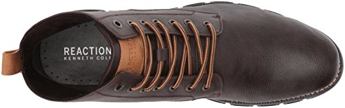 Kenneth Cole REACTION Mens Design 20755 Combat Boot Brown cQP71RTh