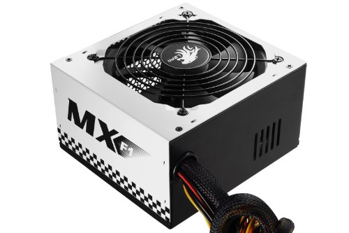 LEPA N Series MX-F1 600W ATX Racing Car Style Coating Power Supply with Extremely Silent Fan, N600-SB by LEPA (Image #5)