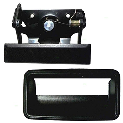 Handle and Trim Bezel Replacement for Chevrolet GMC Pickup Truck ()