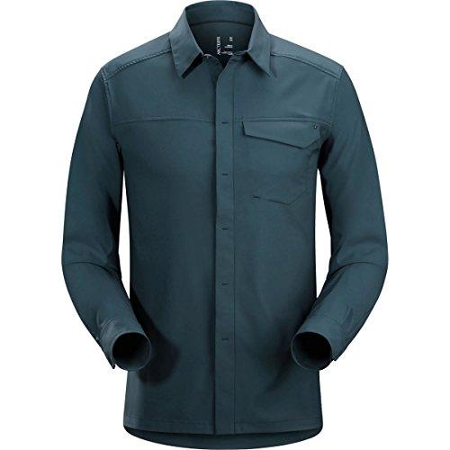 審判おなかがすいた恐竜(アークテリクス) ARC'TERYX Skyline LS Shirt Mens Nighthawk Sサイズ L06854700