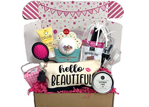 - Complete Birthday Gift Basket Box for Her-Women, Mom, Aunt, Sister or Friend, Unique!