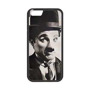 Charlie Chaplin Vintage iPhone 6 Plus 5.5 Inch Cell Phone Case Black