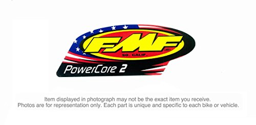 FMF Racing Muffler & Silencer Replacement Decal - Q Patriotic -