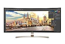 LG 38UC99-W - Monitor UltraWide Curvo, 95.25 cm (37.5 pulgadas), UV4K, IPS, LED, 3840 x 1600 Píxeles, 5 ms, 21:9, 300 cd/m2, blanco
