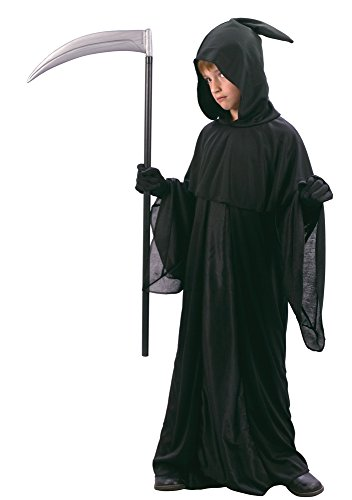 Bristol Novelty CC645 Midnight Messenger Costume, Medium, 122 - 134 cm, Approx Age 5 - 7 Years, Midnight Messenger Costume (M)