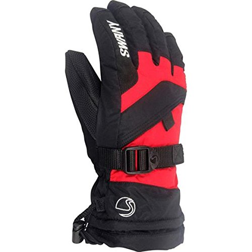 Swany X-over Gloves Jr. (Sx-65j) - Kid's - Black/red - Small by SWANY