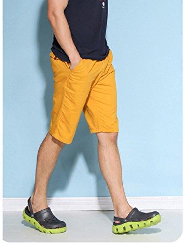 De WKNBEU Verano G Hombres Los Zapatillas Tamaño Antideslizante Nuevas Gran De Opcional Sandalias Multicolor Par 2018 De Sandalias Sandalias rU1r7q