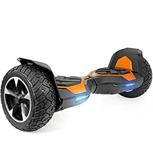 XtremepowerUS 8.5 Inch Off-Road All Terrain Self-Balancing Hoverboard, w/Bluetooth Speaker