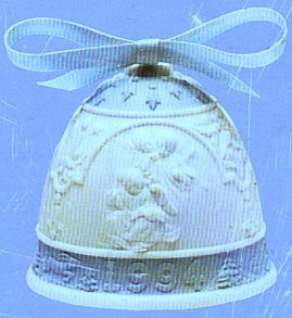 Lladro 1994 Christmas Bell Campana Navidad #16139 Angels with Musical Instruments ()