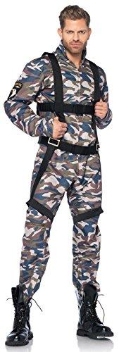 Paratrooper Adult Costume - Large