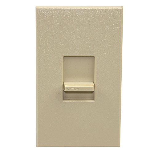 Lutron NTF-103P-277 Fluorescent Dimming w/ Hi Lume & Eco-10 Electronic Ballasts Single-Pole/3-Way 6A Preset, Ivory