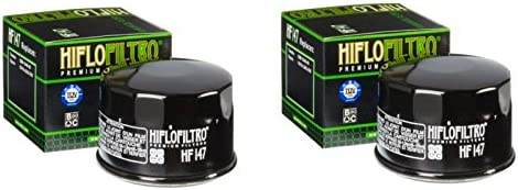 Quantity 2 Hiflo Motorcycle Oil Filter HF147
