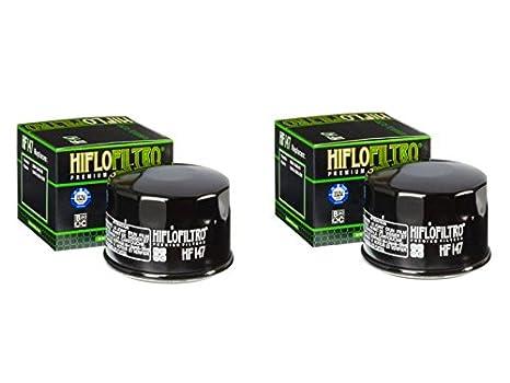 Cantidad 2 - HiFlo filtro de aceite de moto hf147: Amazon.es ...