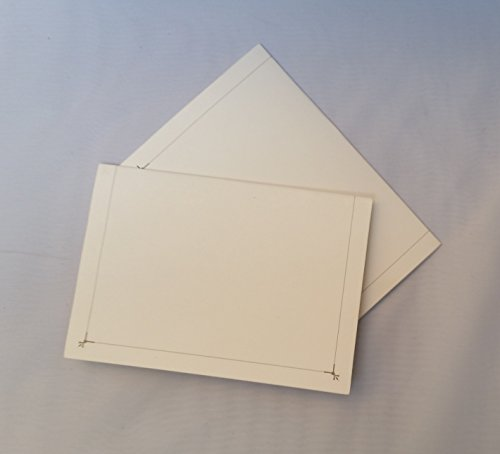 Better Crafts Cardboard Photo Folder 4x6 - Pack of 100 White by Better Crafts (Image #1)