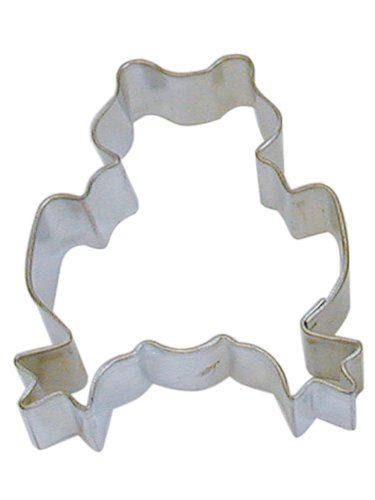 R&M Cookie Cutter, 3-Inch, Frog, Tinplated Steel (Frog Cookie Cutter)