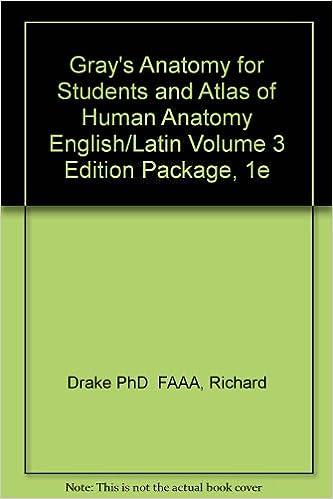 Grays Anatomy For Students And Atlas Of Human Anatomy Englishlatin
