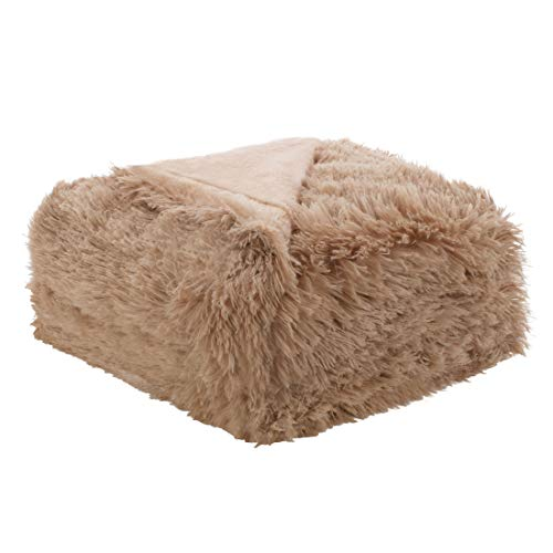 Amazon Com Uxcell Solid Faux Fur Full Size Blanket 70