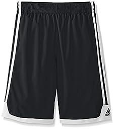 adidas Big Boys\' Key Item Short, Black, Large/14-16