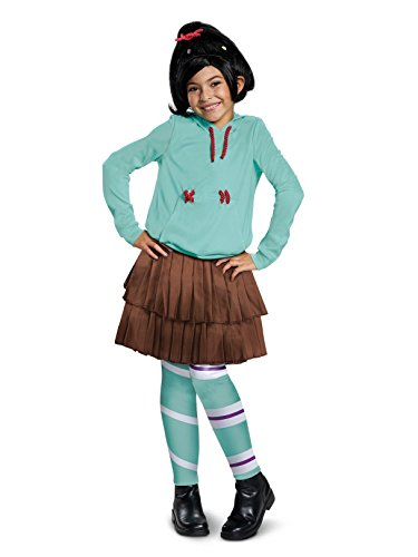 Disguise Vane Lope Deluxe Child Costume, Green, Size/(4-6x)]()