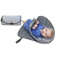 SnoofyBee Portable Clean Hands Changing Pad. 3-in-1 Diaper Clutch, Changing S...