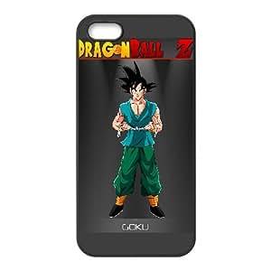 Goku Dragon Ball Z Anime iPhone5s Cell Phone Case Black PQN6053055374583