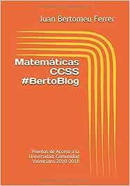 Matemáticas CCSS #BertoBlog: Pruebas de Acceso a la