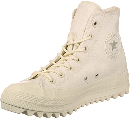 Converse Unisex-Erwachsene CTAS Lift Ripple Hi Natural Hohe Sneaker Beige (Natural)