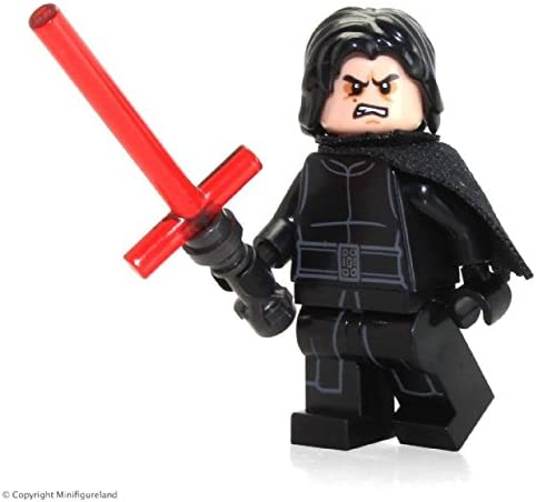LEGO Star Wars First Order MiniFigure - Kylo Ren (with Hair and Lightsaber) 75139