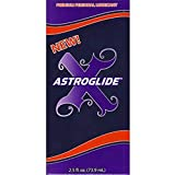 Astroglide X Premium Silicone Personal Lubricant 2.50 oz (Pack of 2)