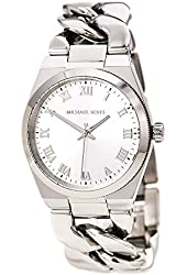 Michael Kors Women's Quartz Stainless Steel Casual Watch, Color:Silver-Toned (Model: MK3392)