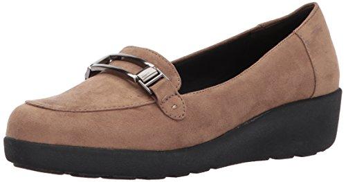 Gemakkelijke Geest Womens Kallye2 Slip-on Loafer Taupe Stof