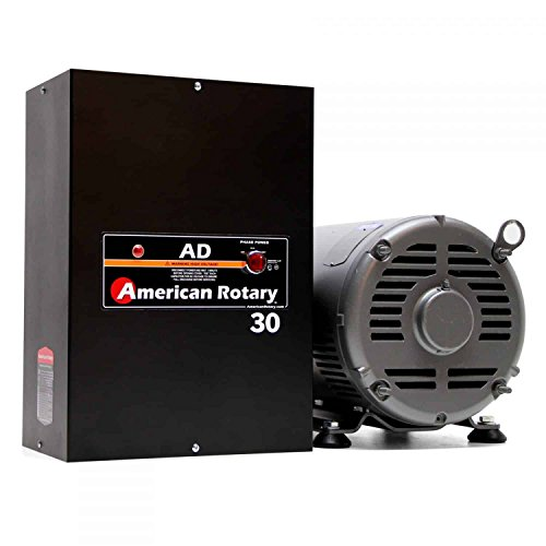 20 HP Welder American Rotary Phase Converter, 480 VAC Single to Three Phase, Wall Mount - AD-30-480-WD